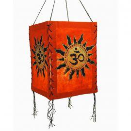 Lampenschirm Buddha Lokta Papier Papierleuchte Papierlampe Lampio